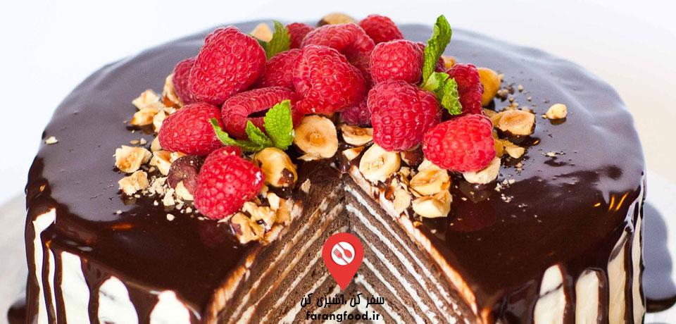 آموزش کیک اسپارتاک روسی شکلاتی