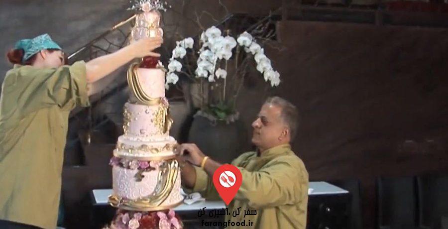 شگفت انگیزترین کیک های عروسی :قسمت 1