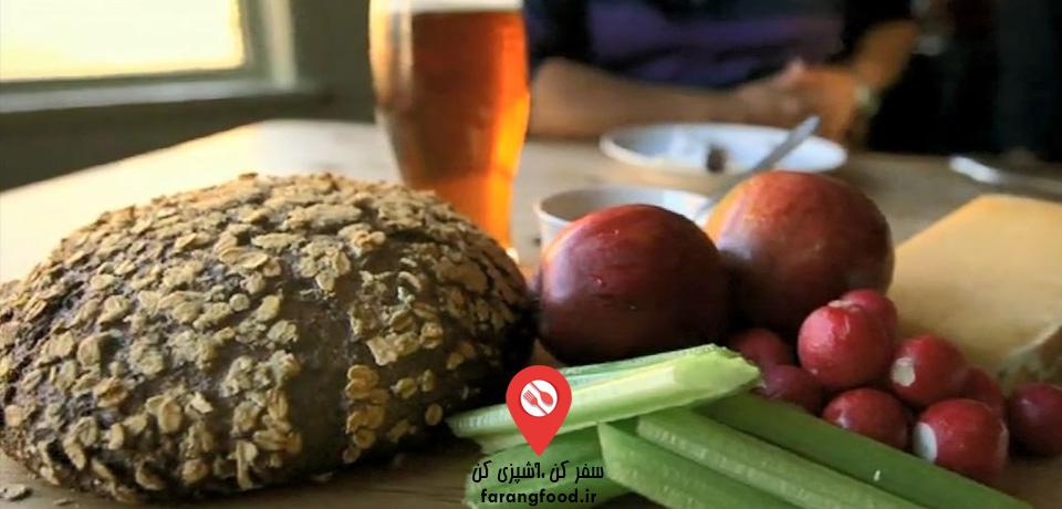 فیلم آموزش پخت نان چاودار و جو با طعم ماءالشعیر