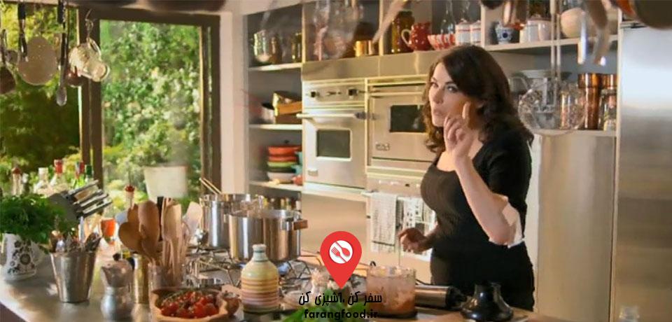 فیلم آموزش اسپاگتی با سس پستو سیسیلی