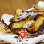 آشپزی در طبیعت : فیلم آموزش دیم سام ساده با گوشت