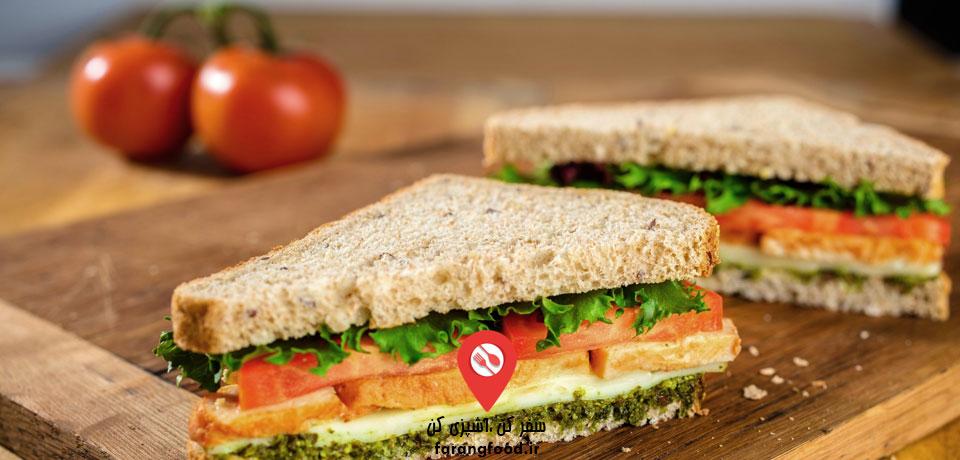 فیلم آموزش ساندویچ و تاریخچه آن