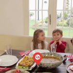 آشپزی با تاتیانا : فیلم آموزش پخت سیب زمینی با بیکن گوشت و سیر