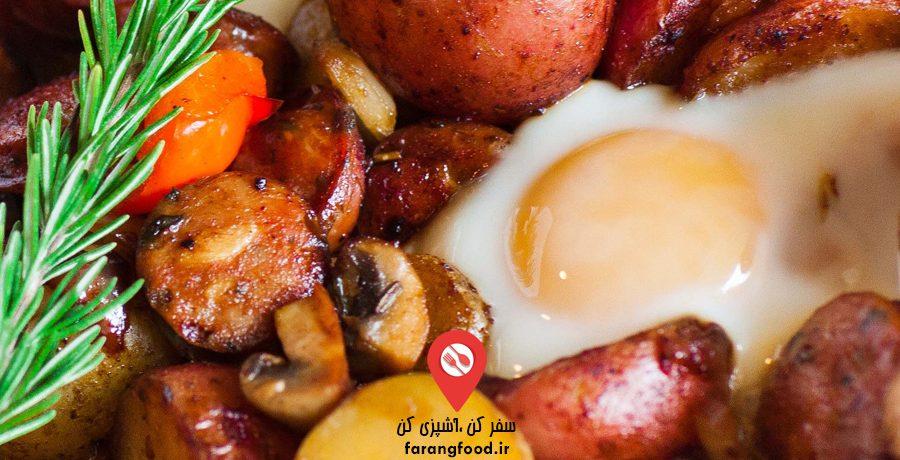 فیلم آموزش صبحانه و میان وعده با سیب زمینی