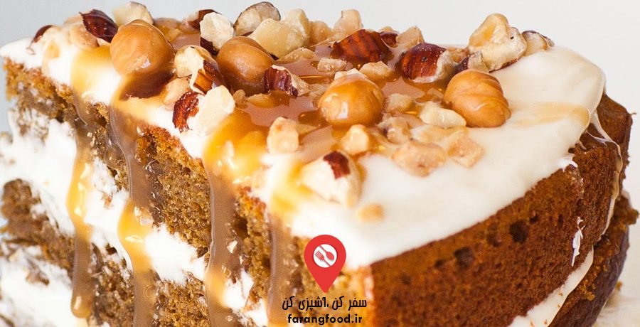 فیلم آموزش کیک کدو حلوایی ادویه دار با قهوه