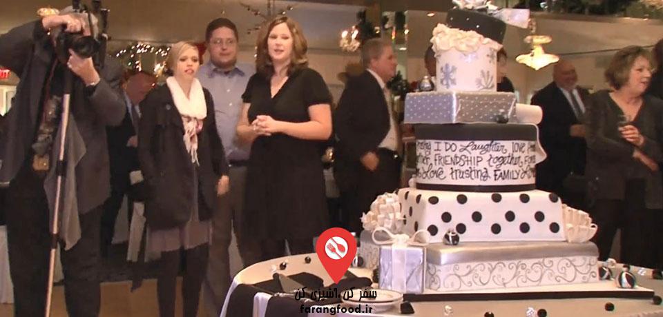 شگفت انگیزترین کیک های عروسی :قسمت دوم