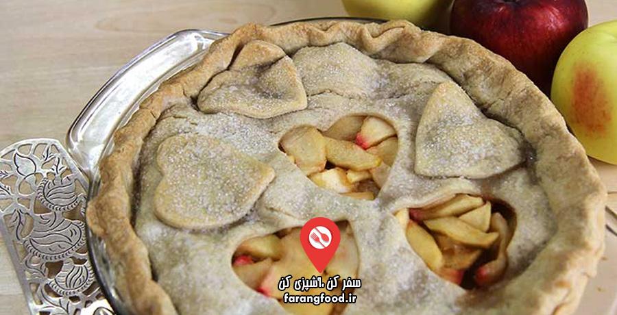 آشپزی 4 فصل :فیلم آموزش دسر آمریکایی کلاسیک پای سیب