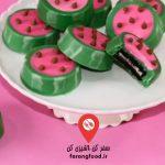 دوست داران کاپ کیک :فیلم آموزش تارت شکلاتی رزبری (تمشک) بدون پختن