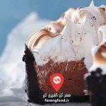 آشپزی با تاتیانا : فیلم آموزش کیک خامه ای شکلاتی ایتالیایی با مرنگ و میوه