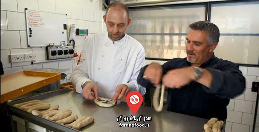 نانوایی پل هالیوود : فیلم آموزش پخت نان آلمانی پرتزل (پریتزل)