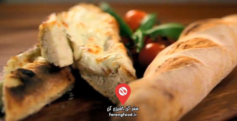 نانوایی پل هالیوود : فیلم آموزش پخت نان باگت و باگت سیردار