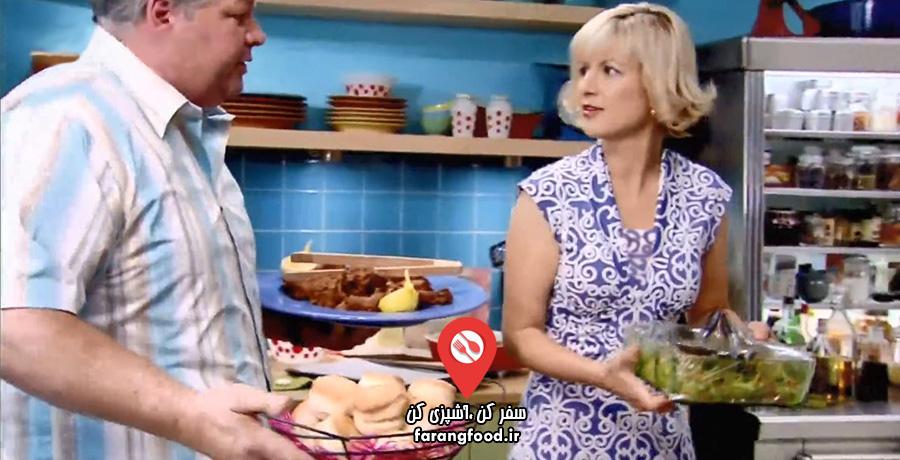 آشپزی با آنا : قسمت ششم : فیلم آموزش نهار لذیذ دهه 50 میلادی