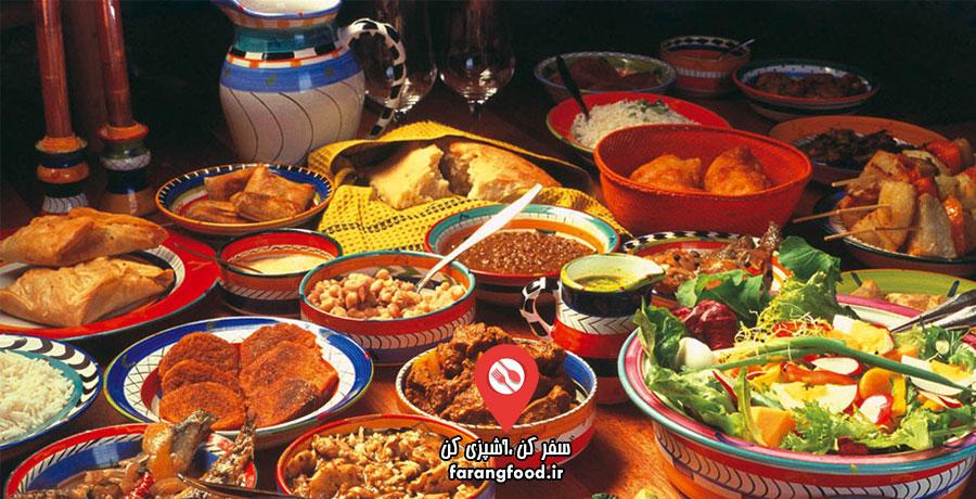 فود سفری : فیلم آموزش آشپزی آفریقایی
