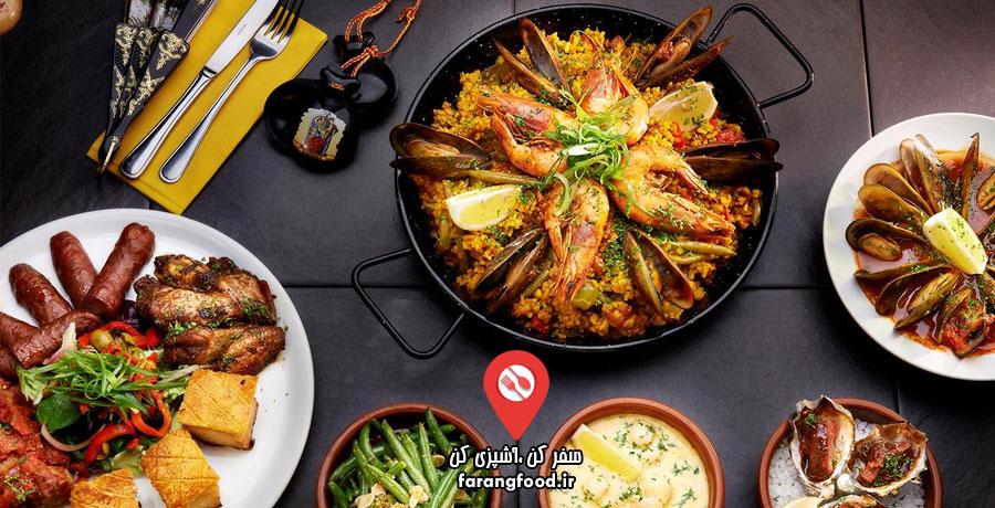 فود سفری : فیلم آموزش آشپزی اسپانیایی