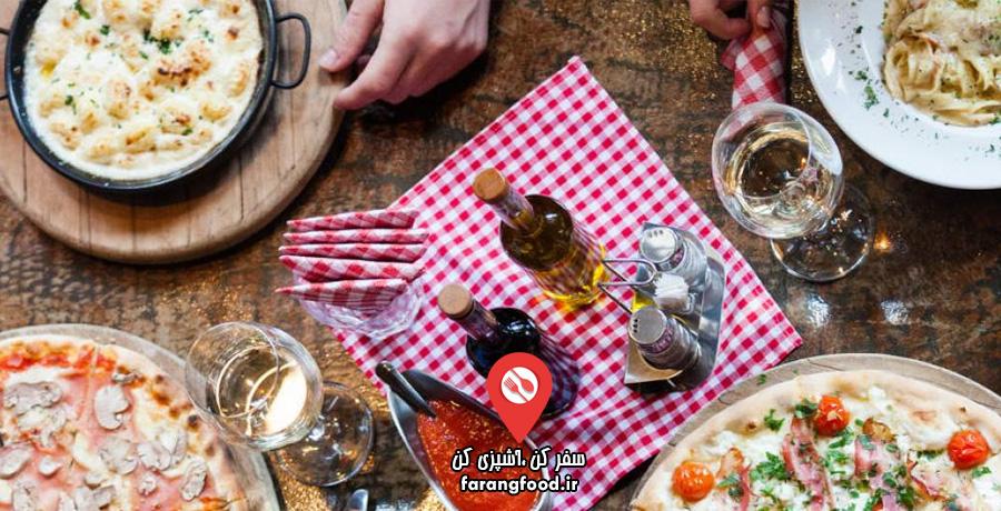 فود سفری : فیلم آموزش آشپزی ایتالیایی