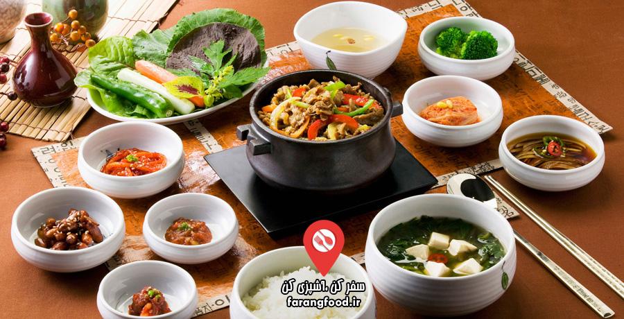 فود سفری : فیلم آموزش آشپزی کره ای