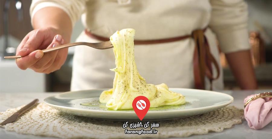 فیلم آموزش الیگوت (سیب زمینی پنیر فرانسوی)
