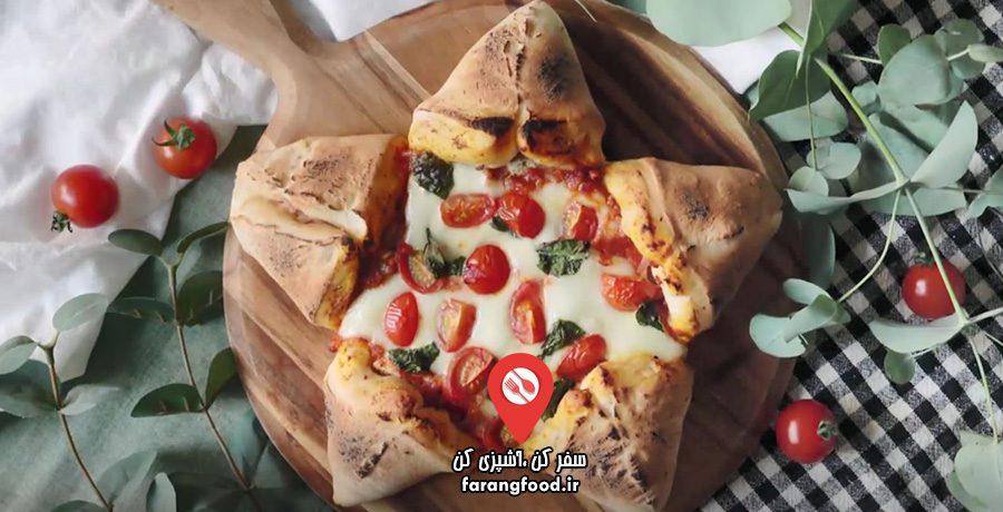 فیلم آموزش پیتزا ستاره ای