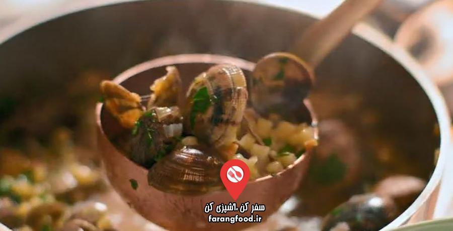 آشپزخانه ایتالیایی نایجلا : فیلم آموزش خوراک صدف ایتالیایی