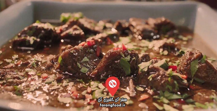 آشپزی آسان با نایجلا: فیلم آموزش خوراک دنده گاو ادویه ای آسیایی