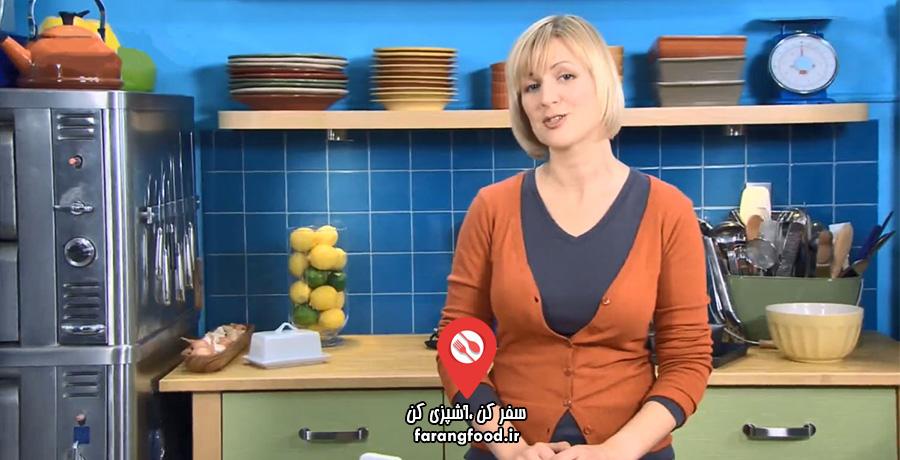 آشپزی با آنا : قسمت هفتم : فیلم آموزش نهار فرانسوی ایتالیایی