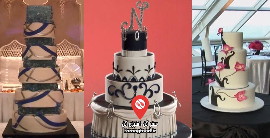 شگفت انگیزترین کیک های عروسی : قسمت ششم