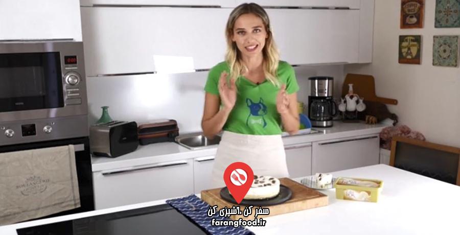 لوکانتا :فیلم آموزش کیک بستنی بیسکویتی با موز