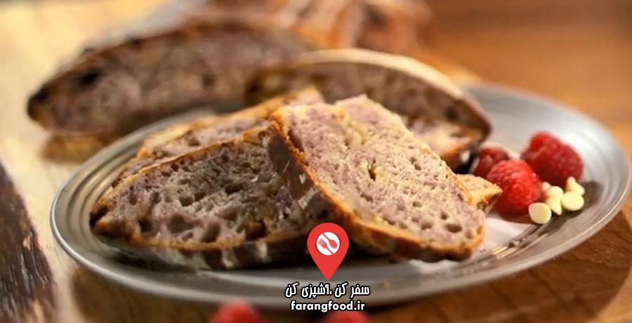 نانوایی پل هالیوود : فیلم آموزش پخت نان تمشک شکلاتی و پودینگ میوه نانی