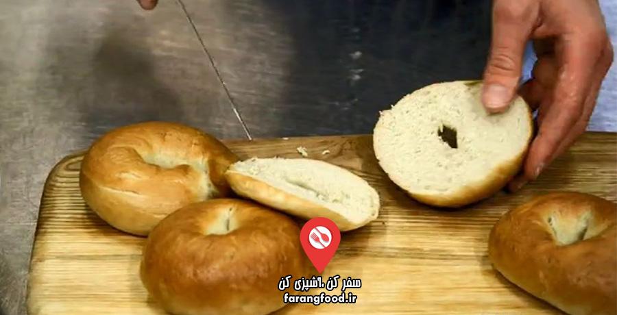 نانوایی پل هالیوود : فیلم آموزش پخت نان بیگل با خمیر ترش