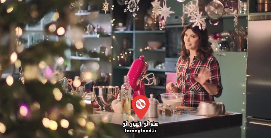 آشپزی آسان با نایجلا: فیلم آموزش شام و دسر آمریکایی مخصوص کریسمس