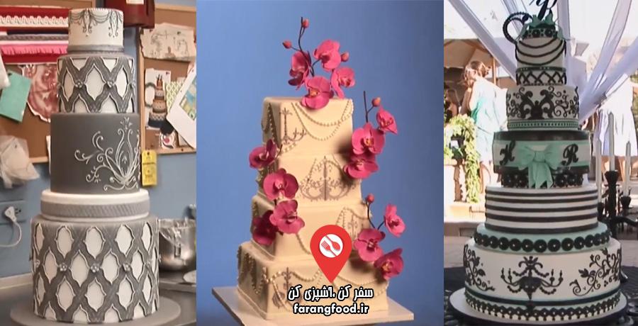 شگفت انگیزترین کیک های عروسی : قسمت نهم