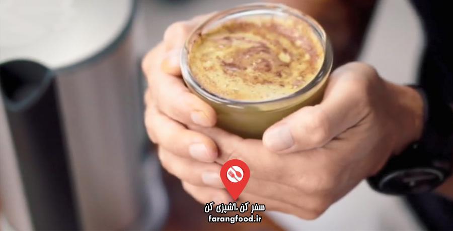 عصاره با جیسون : فیلم آموزش نوشیدنی گرم سیب دارچین