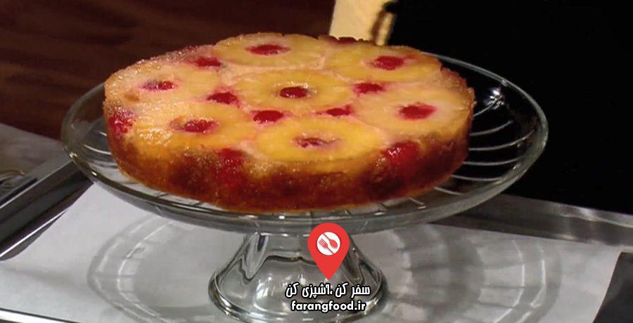 آشپزی با نیک : فیلم آموزش کیک آناناس آلبالو ایتالیایی