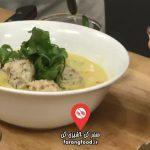 آشپزی یام :فیلم آموزش پودینگ گلابی و نان زنجبیلی با سس تافی