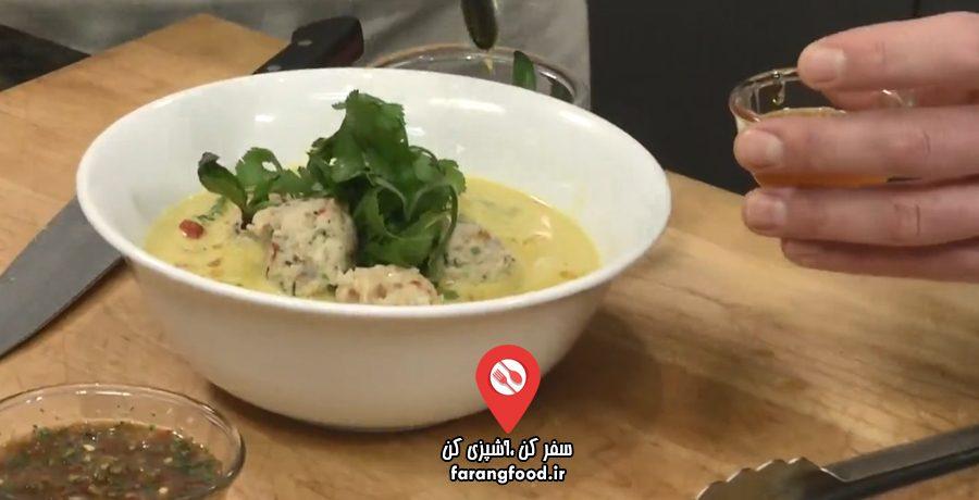 آشپزی یام :فیلم آموزش کوفته ماهی با خورش کاری