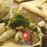 آشپز و سرآشپز: فیلم آموزش مرغ بریان و کییف با سالاد فریکه و دسر توت فرنگی