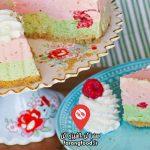 آشپزی با تاتیانا : فیلم آموزش کیک بیسکویت عسلی با خامه و توت فرنگی