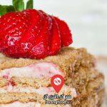 آشپزی با تاتیانا : فیلم آموزش کیک بستنی خامه پسته تمشک