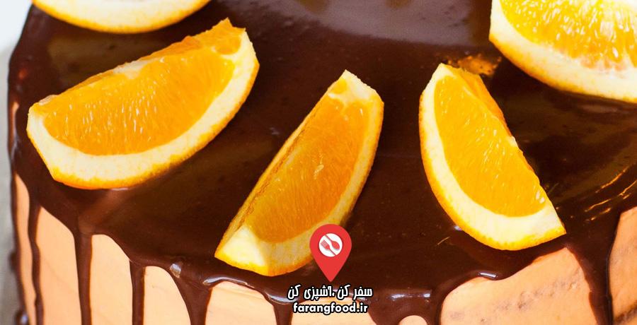 آشپزی با تاتیانا : فیلم آموزش کیک شکلاتی مارمالاد پرتقال