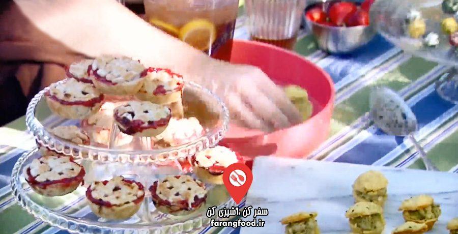 آشپزی با آنا :فیلم آموزش شیرینی و دسر برای جشن تولد نوزاد