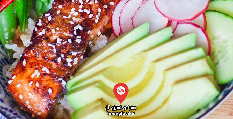 آشپزی با تاتیانا فیلم آموزش سالمون ترش و شیرین (تریاکی)