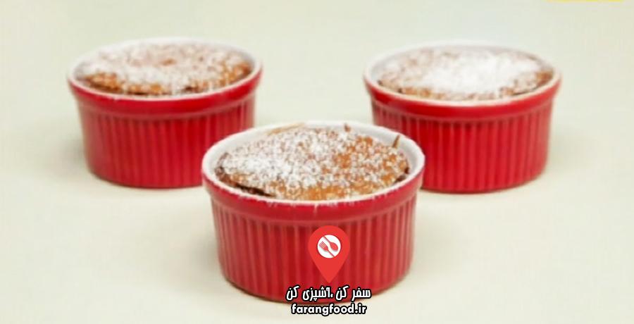آشپزی به صرفه :فیلم آموزش دسر شکلاتی قالبی ساده و ارزان