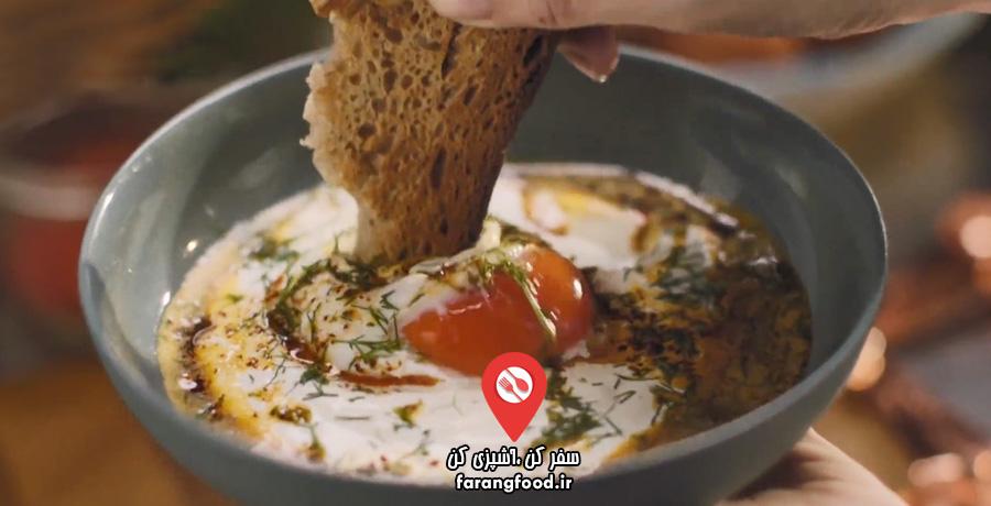 آشپزی در خانه با نایجلا فیلم آموزش نیمرو ترکی با فلفل پول بیبر