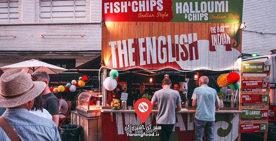 آشپز جسور فیلم آموزش غذاهای خیابانی انگلیسی