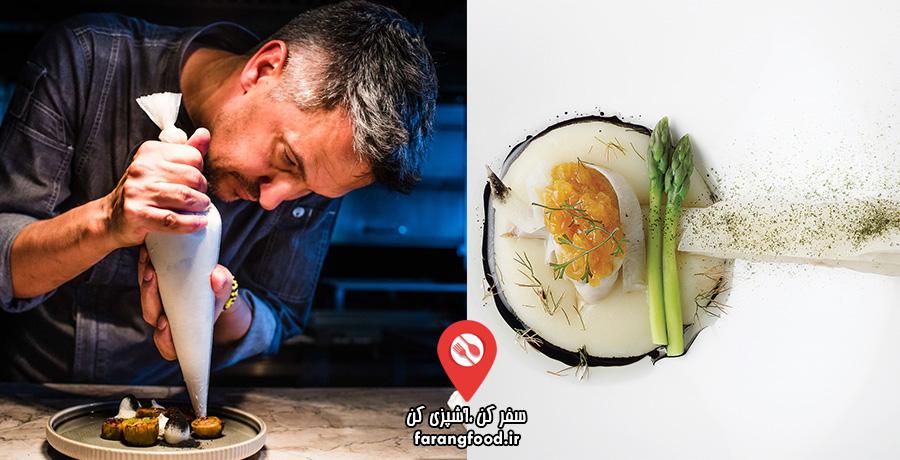 فیلم آموزش آشپزی با دیوید هیگز ، بهترین سرآشپز آفریقای جنوبی