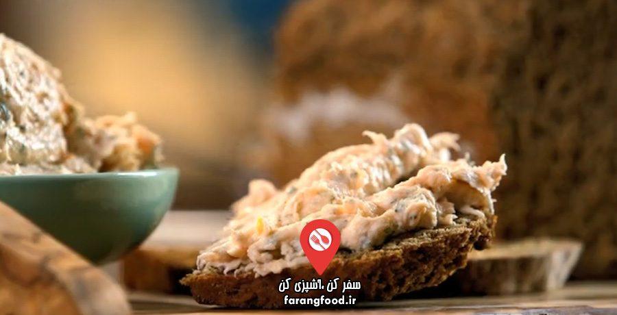 نانوایی پل هالیوود فیلم آموزش پخت نان ایرلندی استاوت با پاته (پته) ماهی دودی