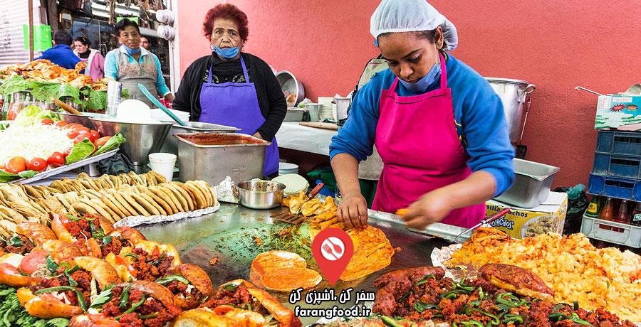 آشپز جسور فیلم آموزش غذاهای خیابانی مکزیکی
