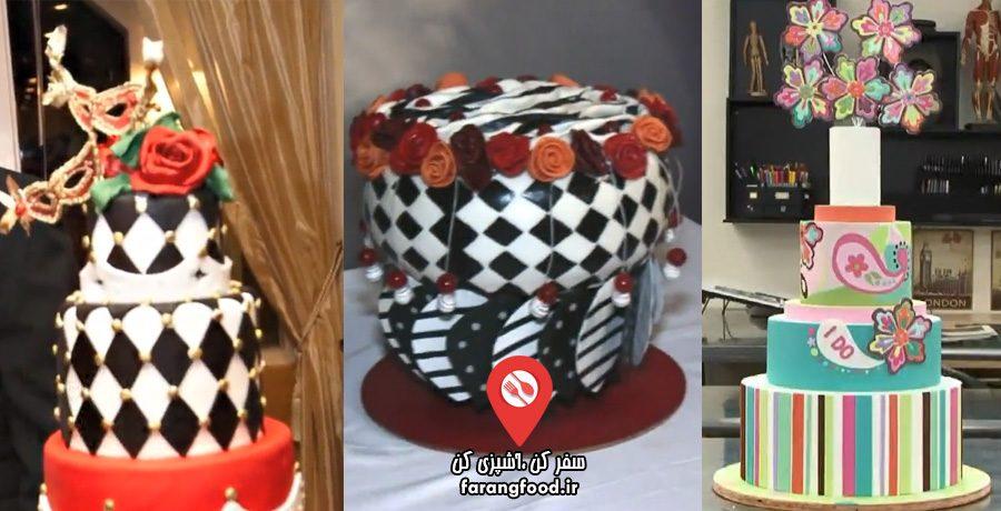 شگفت انگیزترین کیک های عروسی قسمت دوازدهم