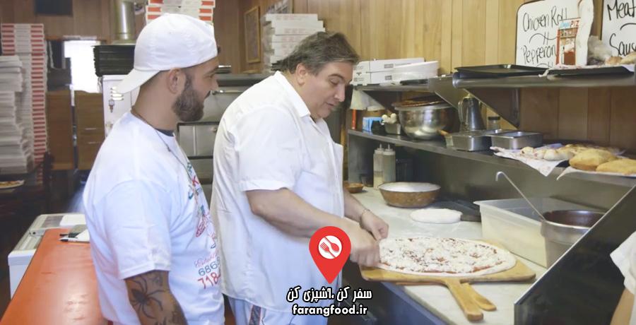 پیتزا شو سفر به آمریکا2 (نیویورک)