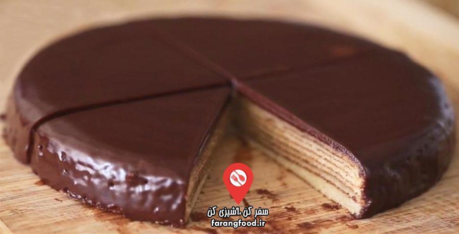 ساده ولی خوشمزه فیلم آموزش کیک آلمانی بامکوچن (کیک درختی)
